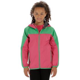 Regatta Deviate Veste Enfant, hot pink/island green reflective